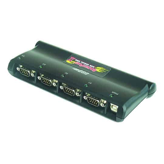 Industrial USB to Serial Hub - 8-Port | USB-RS232 Hub with DIN ...