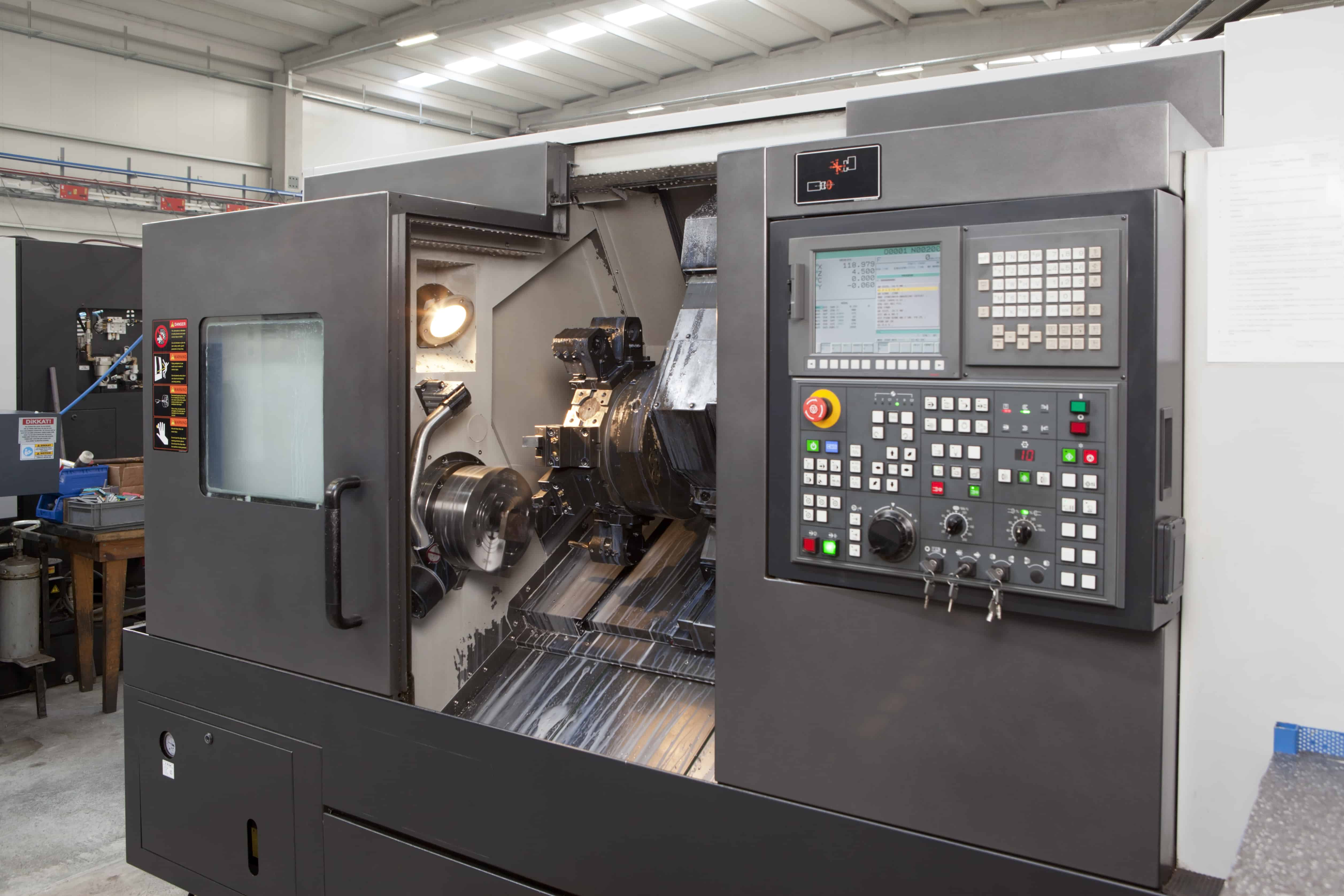 CNC Machines Adding Intelligence Through The Use of IO-Link and Comtrol's Master