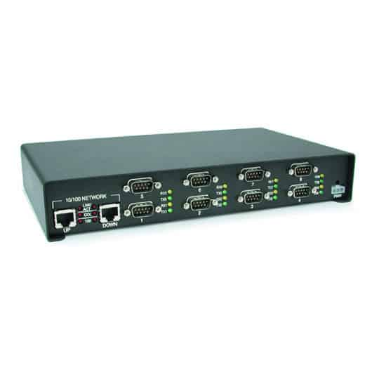 DM SH 8Port Zoom - DeviceMaster ® Rack Mount