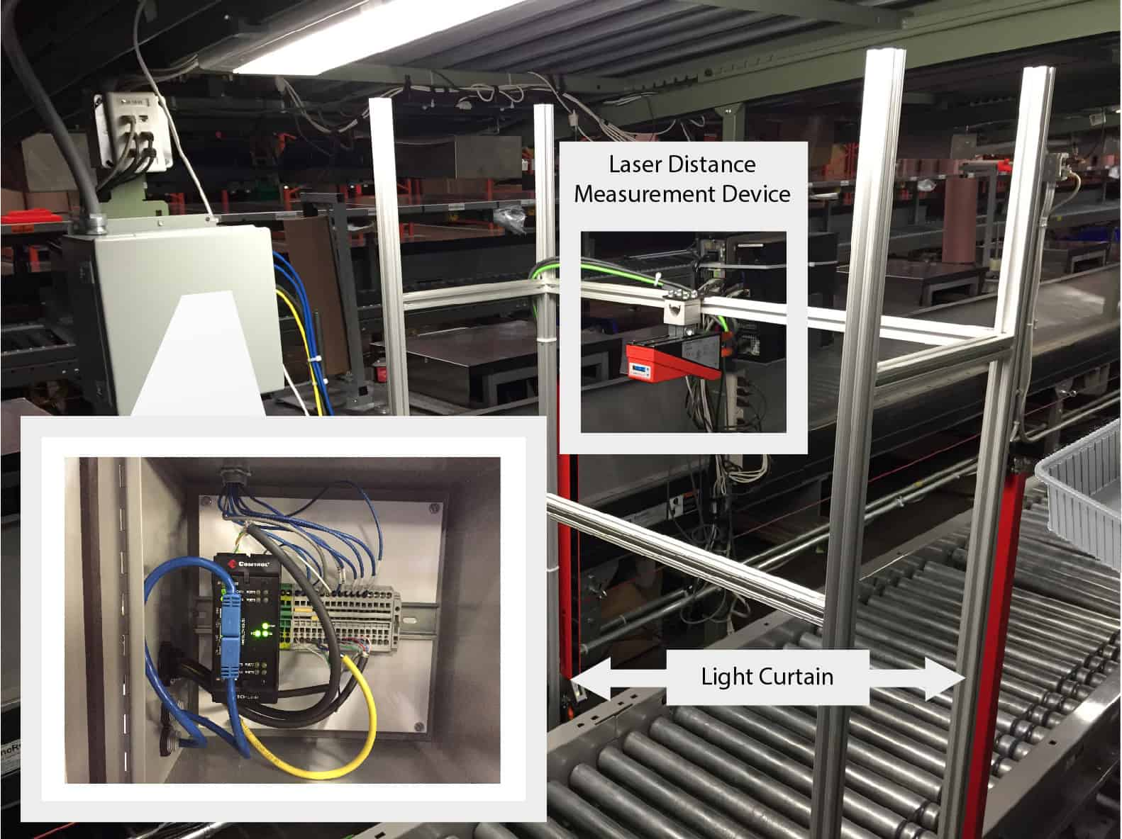 IO Link Solution Small 1 - Material Handling with IO-Link