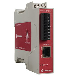 RTS Terminal Strip 1port 1E right 300px - DeviceMaster PROFINET IO